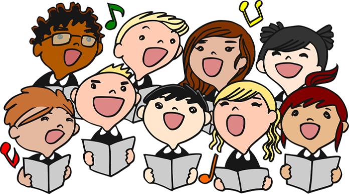 Ilustrasi - Anak-anak Menyanyi. (foto: ist/palontaraq)