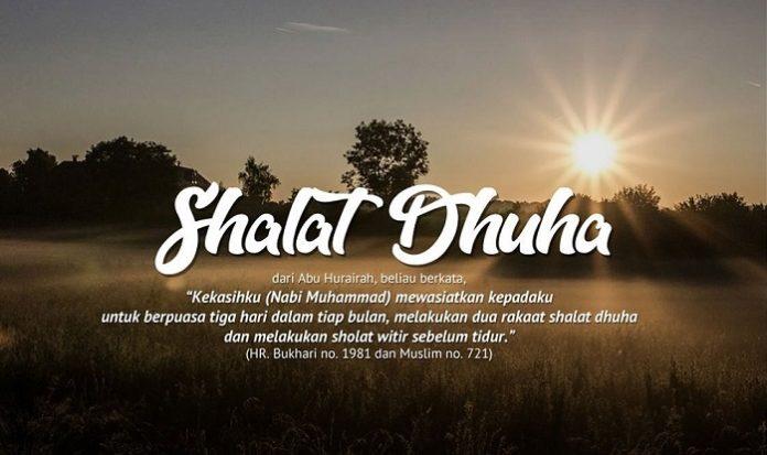 Shalat Dhuha. (foto: ist/palontaraq)