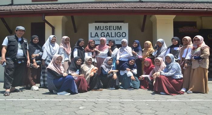 Wisata Sejarah ke Museum Balla Lompoa, Sungguminasa, Gowa. (foto: mfaridwm/palontaraq)