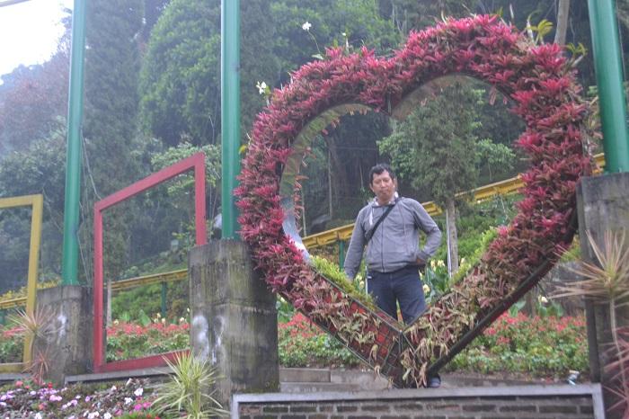 Penulis saat Traveling ke Kota Malang, Jawa Timur. (foto: ist/palontaraq)