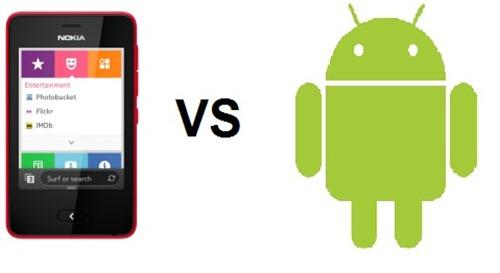 Nokia vs Android. (foto: ist/palontaraq)