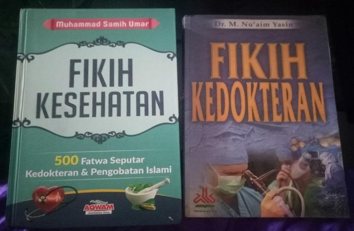 Buku Fikih Kedokteran dan Fikih Kesehatan. (foto: ist/palontaraq)